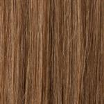 "Silky straight hair with 6 psc.clips colour 10, light ash blonde18"" (45cm long) 20gr."