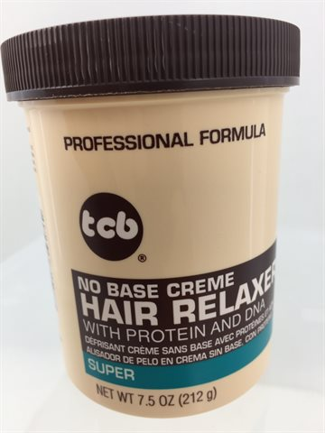 Tcb hair relaxer super in jar 212 gr