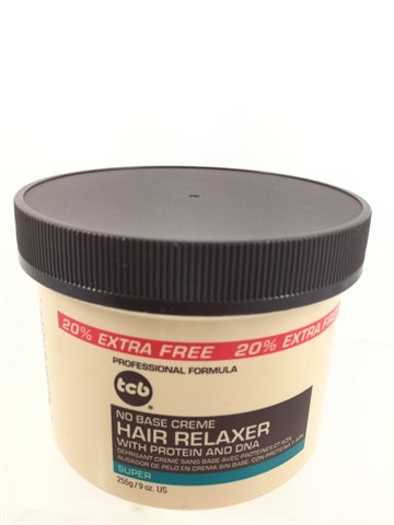 Tcb hair relaxer super in jar 255 gr