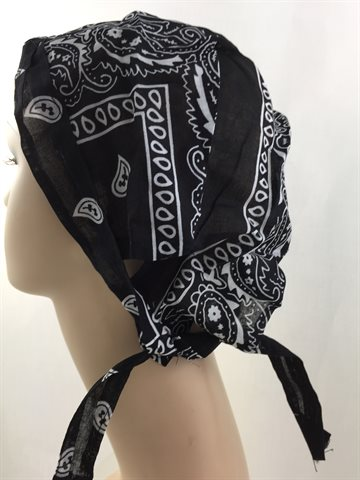 Durag Bandana Black. Mr. Durag