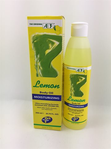 A3 Lemon Body oil Moisturizing 260ml.
