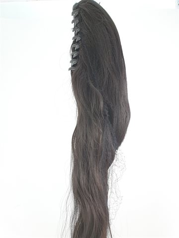 Hair - Synthetic Ponytail straight with 1 big clip Colour 2/30