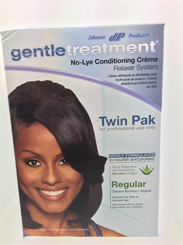 Gentle Treatment Hair Relaxer Regular Twin pak