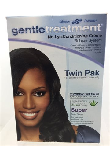 Gentle Treatment Hair Relaxer Super Twin pak
