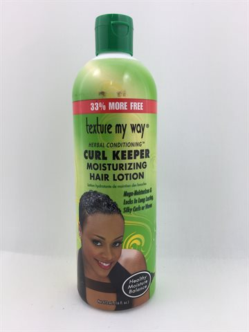 African Best Texture my way Curl keeper moisturizing Hair Lotion 355 Ml