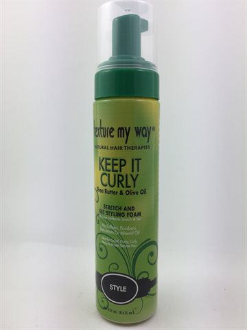 Texture My Way, Keep it Curly - Shea Butter & Olive Oil 177 Ml