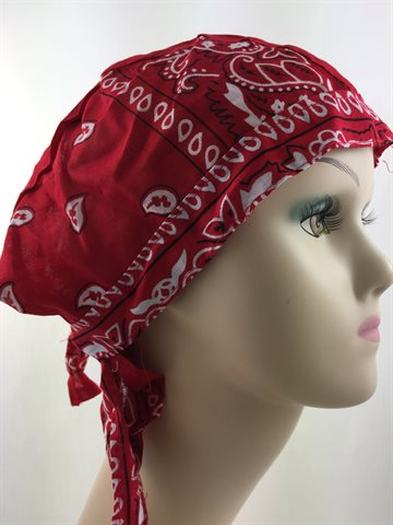 Durag Bandana Red. Mr. Durag