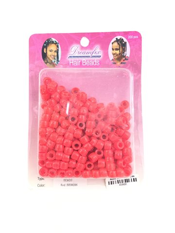 Hair beads Red (200 Pcs).