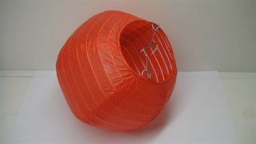 "Colourful Lantern Paper 6"" -  15cm Red Colour"