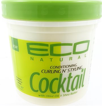 ECO Conditionng styling Cocktail with Olive Oil & Sghea Butter 473 ml.