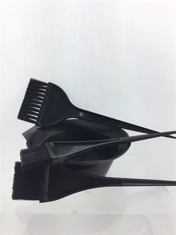 Hair Dye Bowl, Comb, Brushes tool