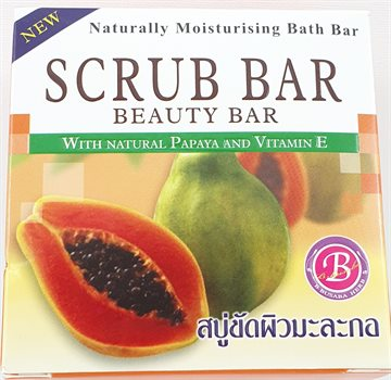 Scrub Bar Soap 160 g. Tailand.