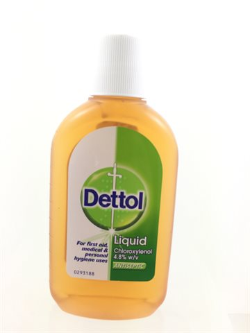 Dettol Liquid for first aid 250 ml (UDSOLGT)
