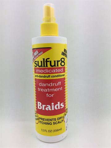 Sulfur 8 dandruff treatment for braids 200 Ml