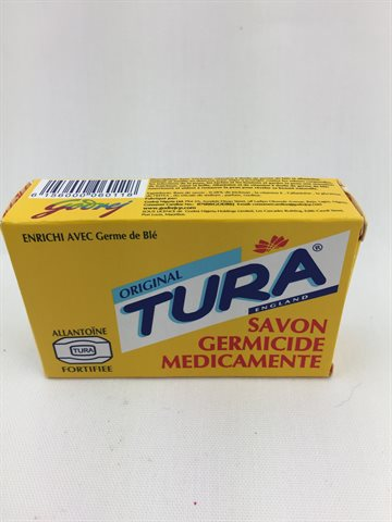 Tura soap Dark Blue Germicidal Medicated Soap 75 Gr.