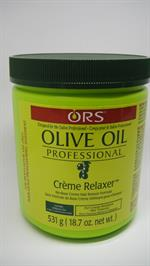 Olive oil Hair relaxer Ext.Strength - Extra Strength in jar