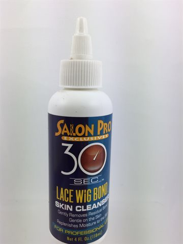 Salon Pro Lace Wig Bond Skin Cleanser White 118 ml..
