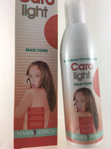 Caro light Skin Beautifying Milk - Maxi Tone - All over body complexion lotion - 250 Ml