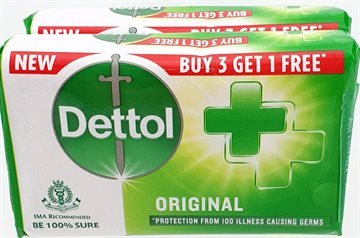 DETTOL SOAP ORIGINAL  2 X 75 g.