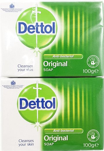 DETTOL SOAP ORIGINAL 2 X100 g.