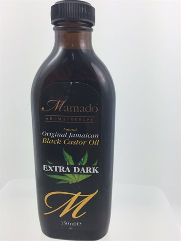 Black Castor Oil Original jamaican 150 Ml. Extra Dark Mamado