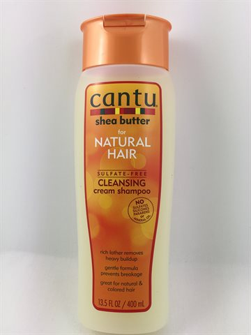 Cantu Shea Butter For Natural Hair Cleansing Cream Shampoo 400 ml