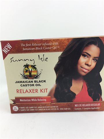 Jamaican Black Castor Oil Relaxer Kit Relaxer Regular
