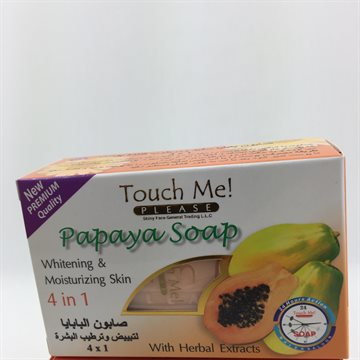 Touch Me 4 in 1 Papaya Soap135 Gr