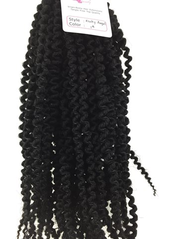 Afro kinky curly Hair colour 1.