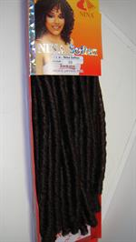 Double drawn Dreadlocks hair colour 33- 70cm length 15pcs. in a pack