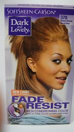 D & L hair color Honey Blonde 384