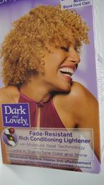 D & L hair color Natural Light Golden Blonde Colour 384