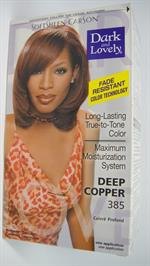D & L Hair Color deep copper 385