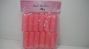Sponge Hair Rollers 12 pices - 7 Cm. Long