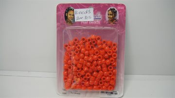 Hair beeds Red colour 200 Pcs..