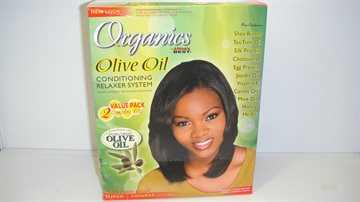 African Best Organics Olive Oil Relaxer super 2 in 1 (2 value Pack)