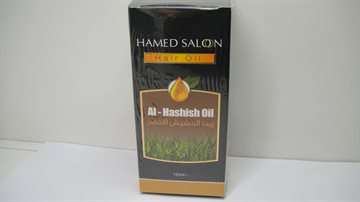 Hashish Hår Olie - Green Grasses oil 150 Ml