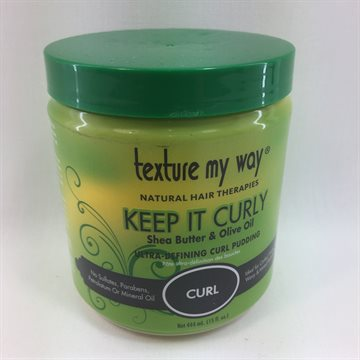 African Best Texture my way Curl keeper Ultra defining Curl Pudding 444 Ml