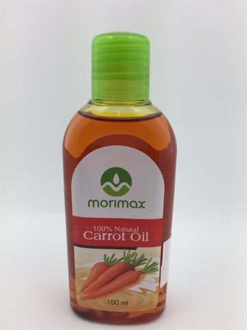 100% Natural Carrot Hair Oil Morimax 150 Ml.