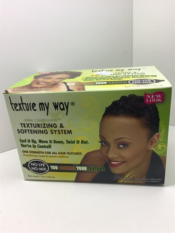 Texture My Way - Texturizing & Softning system