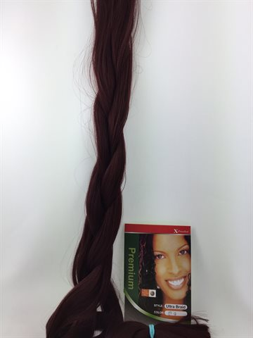 Exception Braid Hair, Hot water (kanekalon) 165 Gr Colour 139