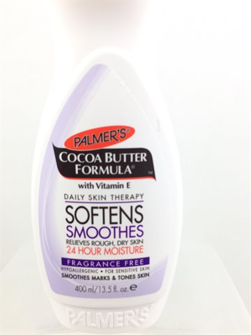 Palmer's Cocoa butter formula dry skin Sensitive lotion 400 ml